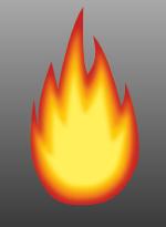 Llama de gas natural