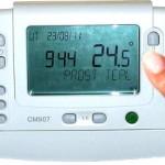 Termostato ambiente de calefacción