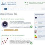 nuevo diseño www.jltecnicos.com
